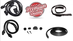 1970 - 1976 Firebird Coupe Rubber Weatherstrip Seal Kit