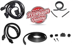1977 - 1981 Firebird Coupe Rubber Weatherstrip Seal Kit