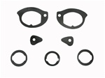 1967 - 1969 Firebird Door Handle and Lock Gasket Set