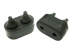 1970-1992 Door Rubber Bumpers Stoppers - Pair