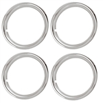 14 X 6 Rally Wheel Trim Rings, Set of 4