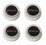 1967 - 1972 Firebird Rally Wheel PMD Center Caps, Set of 4 Black