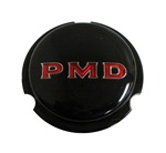 1967 - 1972 Rally Wheel PMD Center Cap Insert, Black