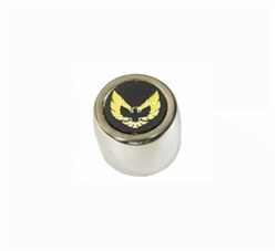 1977 - 1979 Firebird Center Cap Stainless Steel Version, Gold Insert Each