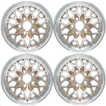 "1978 - 1981 15"" x 8"" Firebird Snowflake Gold Wheel, Set of 4"