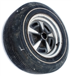"1969 Rally Wheel with White Wall Tire ""JK"", Original GM Used"