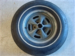 "14"" Rally Wheel with Goodyear Wide Tread Whitewall"