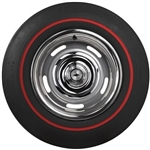 1967 - 1969 E70-14 Firestone Red Line Tire