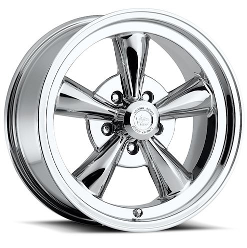 Vision 141 Legend 5 Spoke Polished Chrome Wheel Rim 15x8