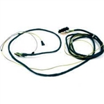 1972 - 1973 Firebird Front to Rear Body Wiring Harness, with Seat Belt Warning