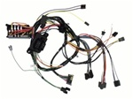 1971 - 1972 Under Dash Main Wiring Harness, Without Rally Gauges