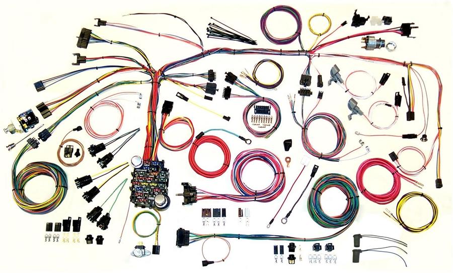 1967 1968 firbird classic update complete wiring harness kit 1970 Dodge Challenger Wiring Harness