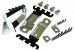 1969 Pontiac Firebird & Trans Am Spark Plug Wire Separators & Looms for all V8 With AC, 10 pc