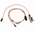 1970-1981 Trunk Light Wiring Harness Assembly