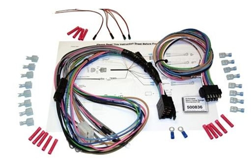 1967-1968 Autometer Dash Gauge Cluster Wiring Harness Kit on