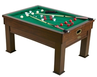 Bumper Pool, Card & Dining Table 3 in 1 - Rectangular Game Table