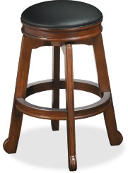 Colonial Backless Bar Stool