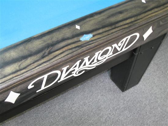 Diamond Pro Am 9 Foot Charcoal Pool Table