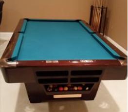 Brunswick Used Pool Tables >> Medalist By Brunswick Used Pool Table