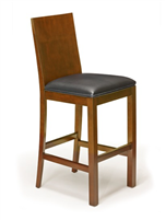 Stationary Backed Bar Stool