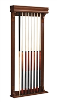 Brunswick Traditional Pool Cue Wall Rack