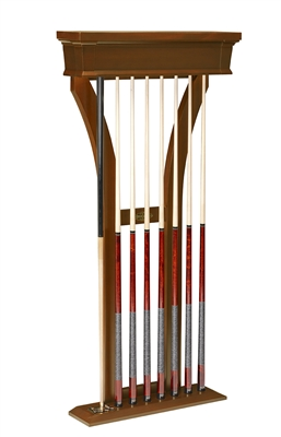 Brunswick Treviso Pool Cue Wall Rack