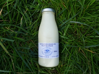 250ml Pasteurised Grass-Fed Pouring Cream