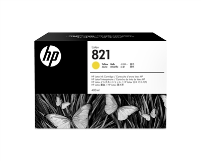 HP 821 Latex Ink Cartridge G0Y88A Yellow