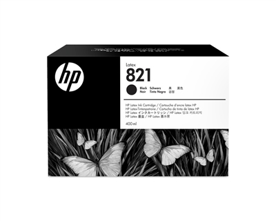 HP 821 Latex Ink Cartridge G0Y89A Black