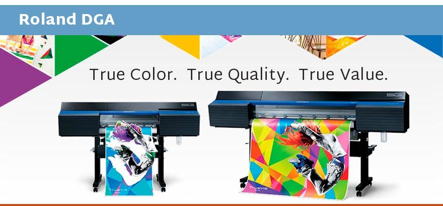 Roland Wide Format Printer Eco Sol Max Flatbed UV Curable WF