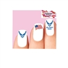 USAF United States Air Force Wife Assorted Waterslide Nail Decals