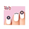 Houston Astros Baseball Assorted Waterslide Nail Decals