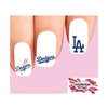 Los Angeles Dodgers Baseball Assorted Waterslide Nail Decals