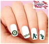 Oakland A's Baseball Assorted Set of 20 Waterslide Nail Decals