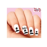 The Beatles Assorted Waterslide Nail Decals