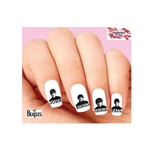 The Beatles with Names Assorted Waterslide Nail Decals