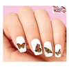 Monarch Butterfly Assorted Waterslide Nail Decals