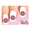 Captain America Nail Decals