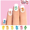 Care Bears Assorted Set of 20 Waterslide Nail Decals