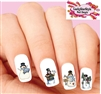 Christmas Holiday Country Snowman #1 Assorted Waterslide Nail Decals