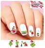 How the Grinch Stole Christmas Assorted Set of 20 Waterslide Nail Decals