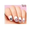 Alabama Crimson Tide Assorted Waterslide Nail Decals