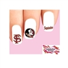 Florida State Seminoles Assorted Waterslide Nail Decals
