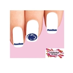 Penn State Nittany Lions Assorted Waterslide Nail Decals