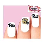 University of Pittsburgh Pitt Panthers Assorted Waterslide Nail Decals