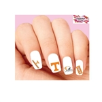 University of Tennessee Volunteers Vols Football Assorted Waterslide Nail Decals