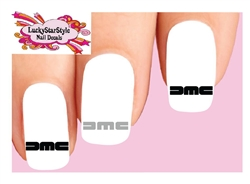 DeLorean DMC Assorted Set of 20 Waterslide Nail Decals