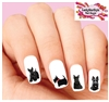 Scottish Terrier Scottie Assorted Set of 20 Waterslide Nail Decals
