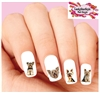 Yorkie Yorkshire Terrier Assorted Set of 20 Waterslide Nail Decals