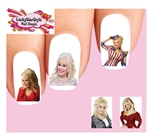 Dolly Parton Assorted #2 Waterslide Nail Decals
